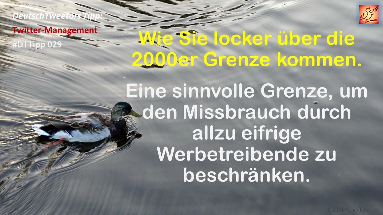 DeutschTweetors Twitter-Tipp 029