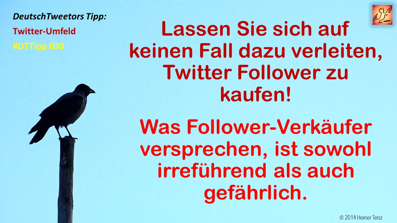 Twitter Follower kaufen