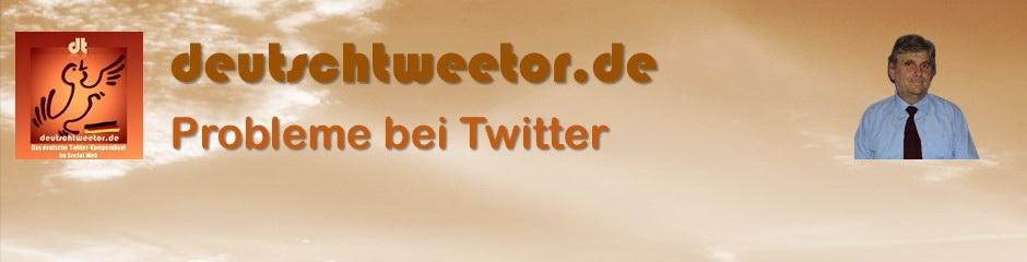 Probleme bei Twitter