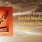 Social Media Größen Cheat Sheet Guide