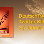 Twitter-Blitzlicht 150123