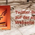 Twitter-Buttons