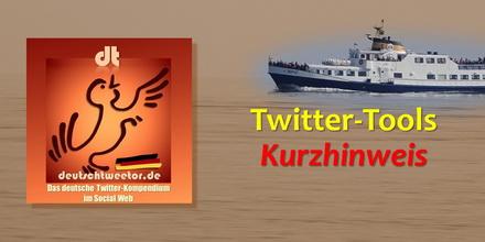 Twitter-Tools-Kurzhinweis