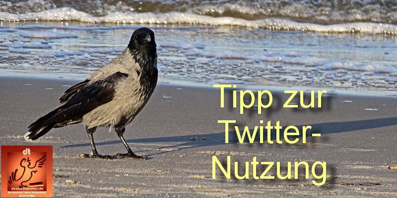 Tipp zur Twitter-Nutzung 01