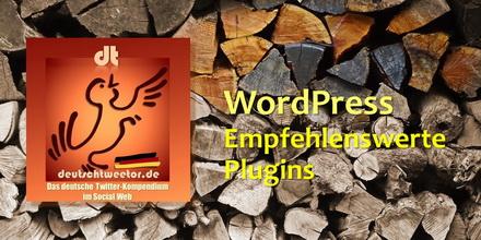 WordPress_EmpfehlenswertePlugins